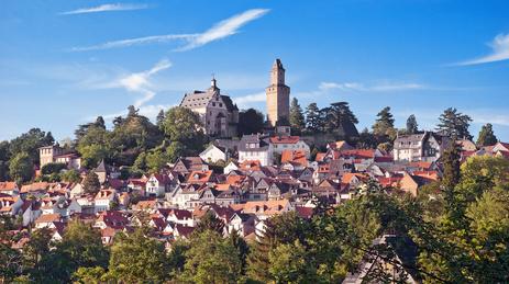 Kronberg im Taunus mit Burg